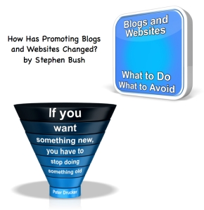 promoting websites and blogs